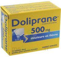 Doliprane 500 Mg Poudre Pour Solution Buvable En Sachet-dose B/12 à BAR-SUR-SEINE