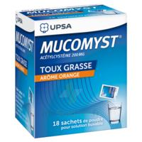 Mucomyst 200 Mg Poudre Pour Solution Buvable En Sachet B/18 à BAR-SUR-SEINE
