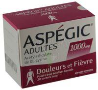 Aspegic Adultes 1000 Mg, Poudre Pour Solution Buvable En Sachet-dose 15 à BAR-SUR-SEINE