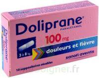 Doliprane 100 Mg Suppositoires Sécables 2plq/5 (10) à BAR-SUR-SEINE