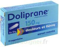Doliprane 150 Mg Suppositoires 2plq/5 (10) à BAR-SUR-SEINE