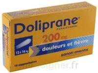 Doliprane 200 Mg Suppositoires 2plq/5 (10) à BAR-SUR-SEINE