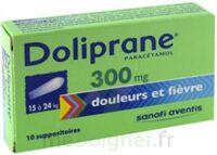 Doliprane 300 Mg Suppositoires 2plq/5 (10) à BAR-SUR-SEINE