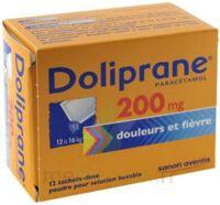 Doliprane 200 Mg Poudre Pour Solution Buvable En Sachet-dose B/12 à BAR-SUR-SEINE