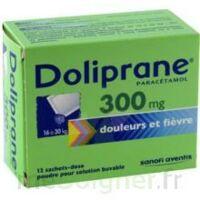 Doliprane 300 Mg Poudre Pour Solution Buvable En Sachet-dose B/12 à BAR-SUR-SEINE