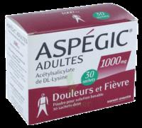 Aspegic Adultes 1000 Mg, Poudre Pour Solution Buvable En Sachet-dose 30 à BAR-SUR-SEINE
