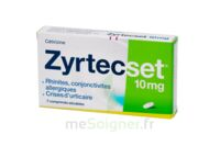 Zyrtecset 10 Mg, Comprimé Pelliculé Sécable à BAR-SUR-SEINE