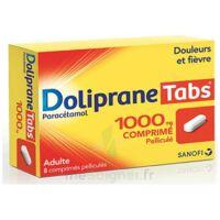 Dolipranetabs 1000 Mg Comprimés Pelliculés Plq/8 à BAR-SUR-SEINE