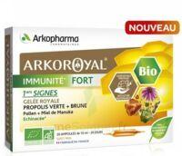 Arkoroyal Immunité Fort Solution Buvable 20 Ampoules/10ml à BAR-SUR-SEINE
