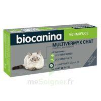 Biocanina Multivermyx Comprimés Vermifuge Chat B/2 à BAR-SUR-SEINE