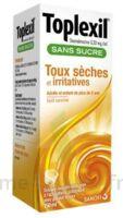 Toplexil 0,33 Mg/ml Sans Sucre Solution Buvable 150ml à BAR-SUR-SEINE