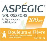 Aspegic Nourrissons 100 Mg, Poudre Pour Solution Buvable En Sachet-dose à BAR-SUR-SEINE