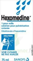 Hexomedine 1 Pour Mille, Solution Pour Pulvérisation Cutanée En Flacon Pressurisé à BAR-SUR-SEINE