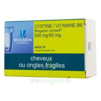 Cystine/vitamine B6 Biogaran Conseil 500 Mg/50 Mg Cpr Pell Plq/120 à BAR-SUR-SEINE
