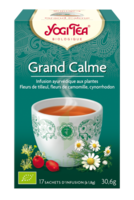 Yogi Tea Tisane Ayurvédique Grand Calme Bio 17 Sachets/1,8g à BAR-SUR-SEINE