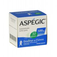 Aspegic 500 Mg, Poudre Pour Solution Buvable En Sachet-dose 30 à BAR-SUR-SEINE