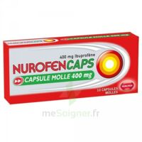 Nurofencaps 400 Mg Caps Molle Plq/10 à BAR-SUR-SEINE