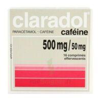 Claradol Cafeine 500 Mg/50 Mg, Comprimé Effervescent à BAR-SUR-SEINE
