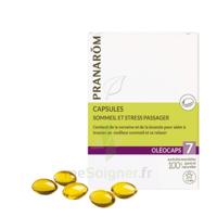 Pranarom Oleocaps 7 Caps Sommeil & Stress Passager à BAR-SUR-SEINE
