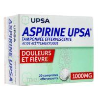 Aspirine Upsa Tamponnee Effervescente 1000 Mg, Comprimé Effervescent à BAR-SUR-SEINE