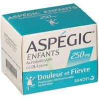 Aspegic Enfants 250, Poudre Pour Solution Buvable En Sachet-dose à BAR-SUR-SEINE
