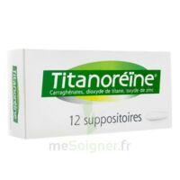Titanoreine Suppositoires B/12 à BAR-SUR-SEINE