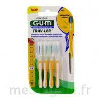 Gum Trav - Ler, 1,3 Mm, Manche Jaune , Blister 4 à BAR-SUR-SEINE