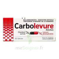 Carbolevure Gélules Adulte Plq/30 à BAR-SUR-SEINE