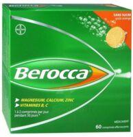 Berocca Comprimés Effervescents Sans Sucre T/60 à BAR-SUR-SEINE