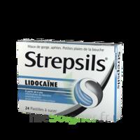 Strepsils Lidocaïne Pastilles Plq/24 à BAR-SUR-SEINE