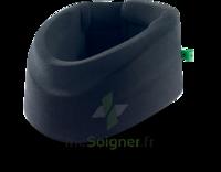 Cervix 2 Collier Cervical Semi Rigide Noir/vert H9cm T3 à BAR-SUR-SEINE