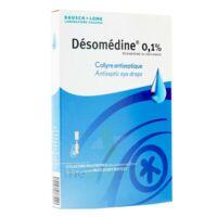 Desomedine 0,1 % Collyre Sol 10fl/0,6ml à BAR-SUR-SEINE