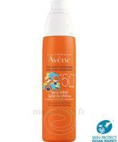Avène Eau Thermale Solaire Spray Enfant 50+ 200ml à BAR-SUR-SEINE