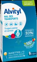 Alvityl Sucette Mal Des Transports B/10 à BAR-SUR-SEINE