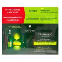 René Furterer Triphasic Progressive Sérum Antichute Coffret 8 Flacons X 5,5ml + Shampoing Stimulant 100 Ml à BAR-SUR-SEINE