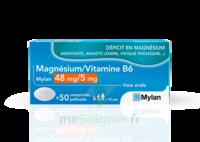 Magnesium/vitamine B6 Mylan 48 Mg/5 Mg, Comprimé Pelliculé à BAR-SUR-SEINE