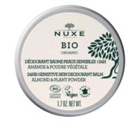 Nuxe Bio Déodorant Baume Fraîcheur 24h Peaux Sensibles Pot/50g à BAR-SUR-SEINE