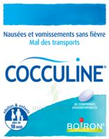 Boiron Cocculine Comprimés Orodispersibles B/40 à BAR-SUR-SEINE